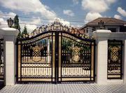 Кованые ворота от компании Онбуд