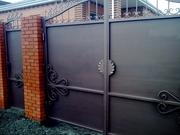 Ворота,  двери. калитки из металла